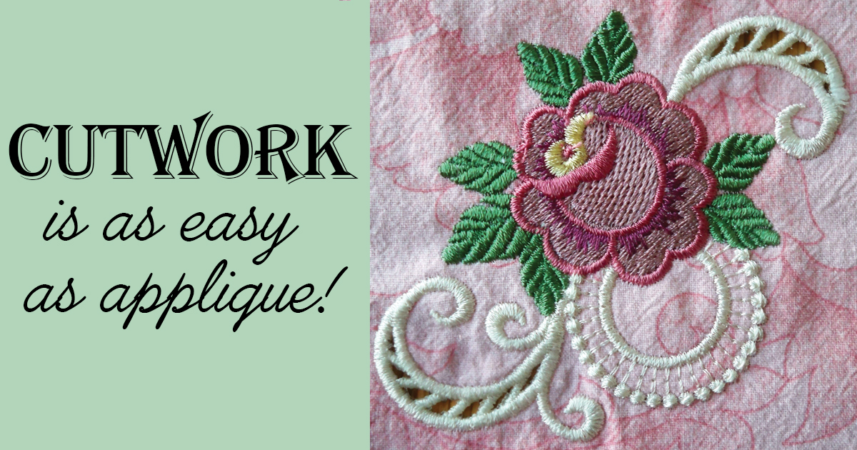 Cutwork Archives Embroidery Tips And Blog