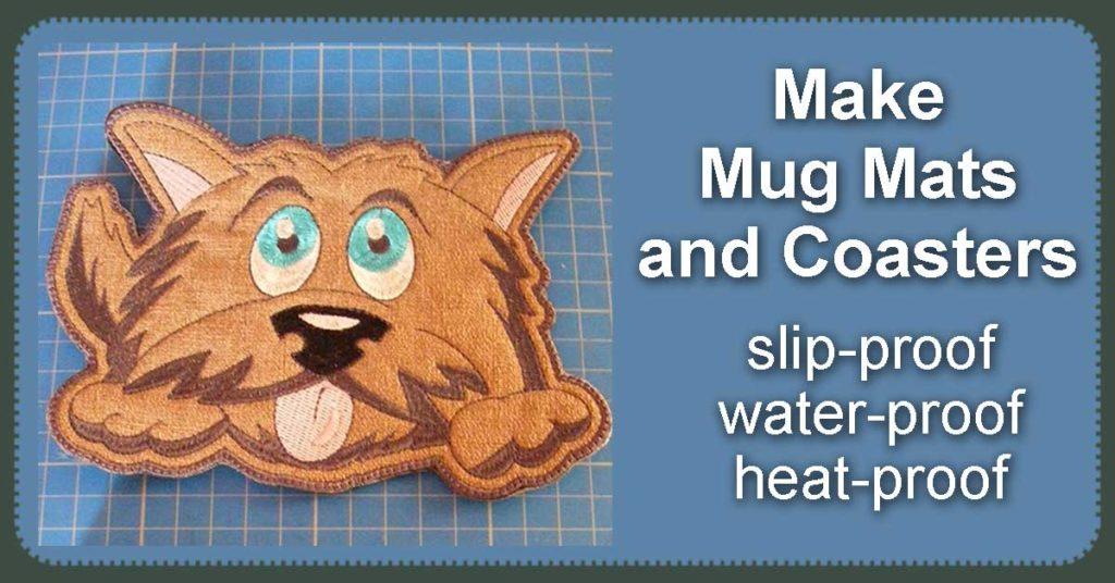 Mug Rugs Slip-Resistant and Water-Proof